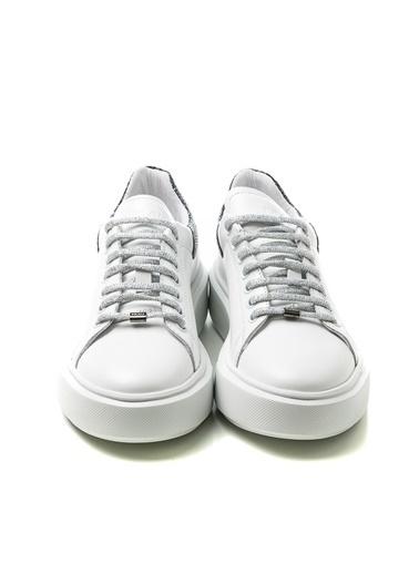 Frau Sim Detay 0AS9W2024869 Kadın Spor Ayakkabı Beyaz